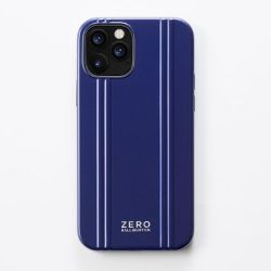 ZERO HALLIBURTON  iPhoneケース(手帳型) for iPhone 12/12 Pro(6.1 inch)Hybrid Shockproof Flip Case/ブルー   81086